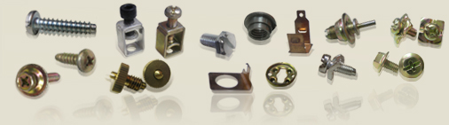 Screw, Screws, Sems Screws, Fastener, Fasteners, Terminal screw Manufacturer & Exporter in Mumbai India, Self lifting washer, Screws & Fasteners, Screw with washer assemblies, Screw with integrating washers, Self tapping screws, Brass & Copper Contacts, Metric thread screws,  Machine screws, Electrical contacts, Brass contacts, Contactor screws, Connector screws, Push button screws, Copper contacts, Brass rivets, Copper rivets, Headless rivet, High tensile screws, S.S screws, Ferrous & Non-Ferrous Fastners, Turned components.